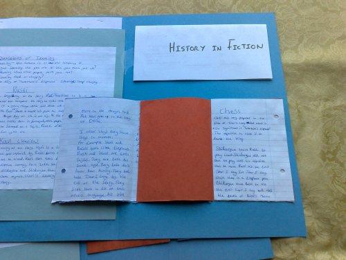 mini booklets for handwritten work