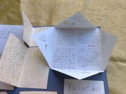 open envelope fold